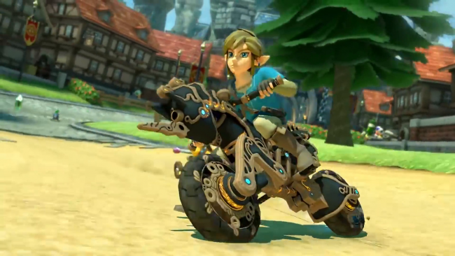 Breath of the Wild kaahailee nyt Mario Kart 8:n Switch-versiossa
