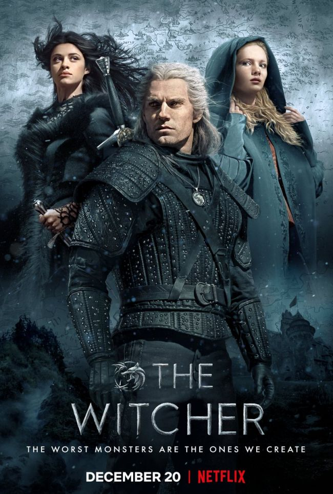 Tässä on Netflixin The Witcherin juliste