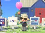 Vieraile Joe Bidenin saarella Animal Crossing: New Horizonsissa