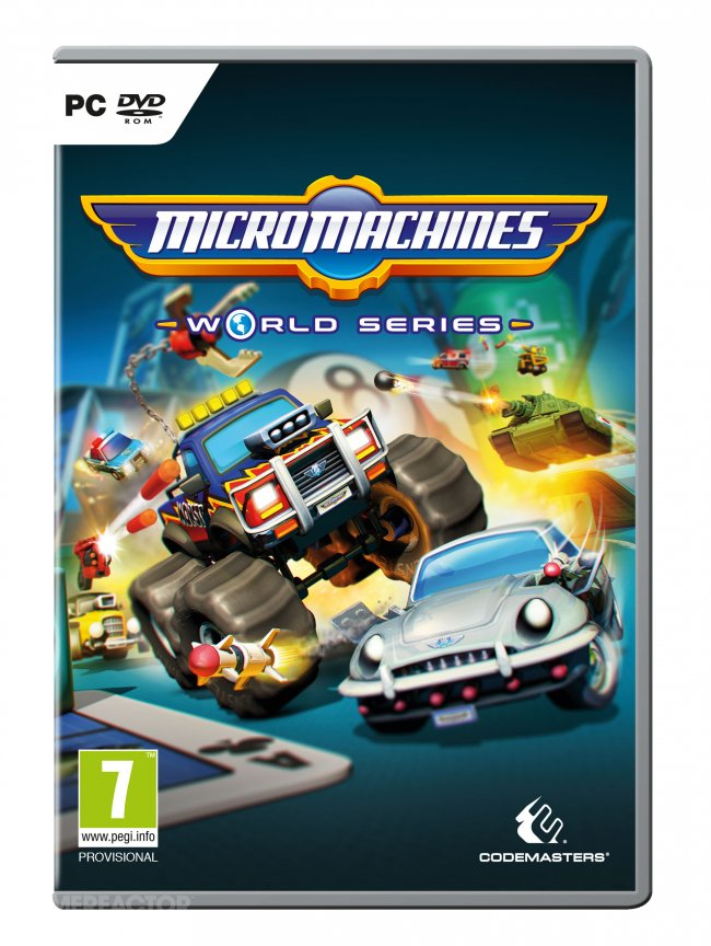Micro Machines: World Series tulossa PS4:lle ja Xbox Onelle