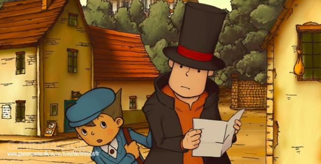 Professor Layton And The Curious Village matkalla Switchille