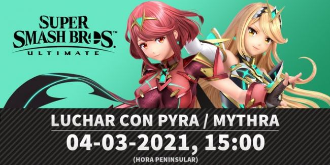 Super Smash Bros. Ultimate on vahvistunut Xenoblade Chronicles 2:n tappelijoilla Pyra ja Mythra