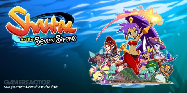 Shantae 5 on nyt Shantae and the Seven Sirens