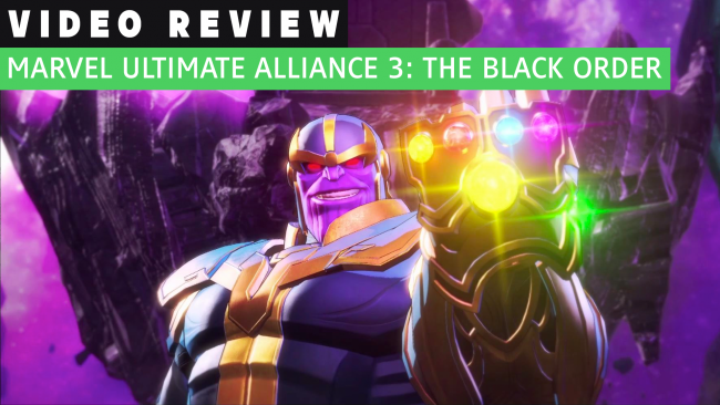 Marvel Ultimate Alliance 3 Gamereactorin videoarviossa