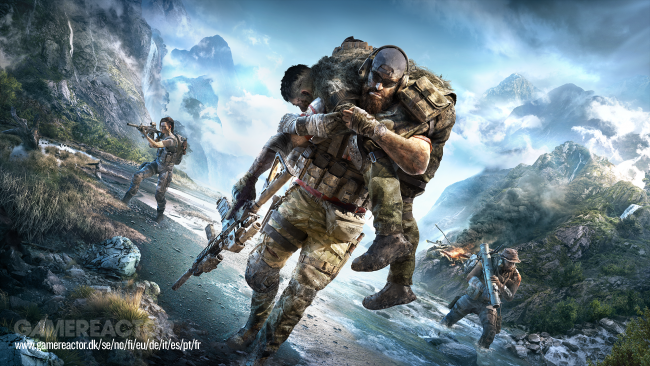 Moninpeli Ghost War esillä Ghost Recon: Breakpointin trailerissa