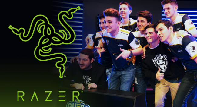 Razer partners with mobile esports side Team Queso