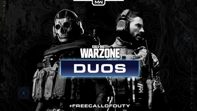 Call of Duty: Warzone sai Duos-pelimuotonsa