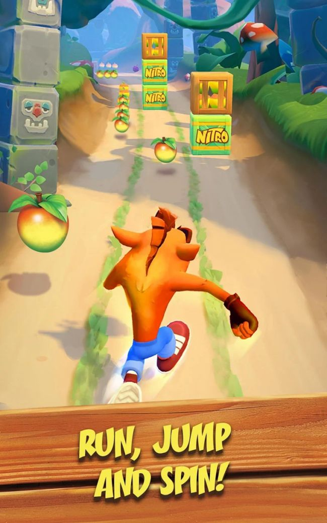 Mobiilinen Crash Bandicoot: On the Run! julkistettiin