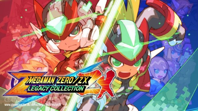 Arviossa Mega Man Zero/ZX Legacy Collection