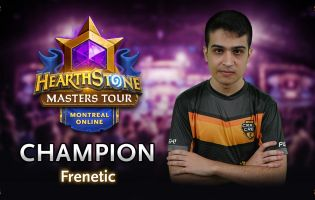 Frenetic on Hearthstone Masters Tour Online: Montrealin voittaja