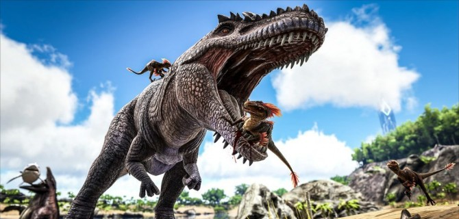 Gameplay Bonanza: voita (taas) Ark: Survival Evolved Explorer Edition PS4:lle!