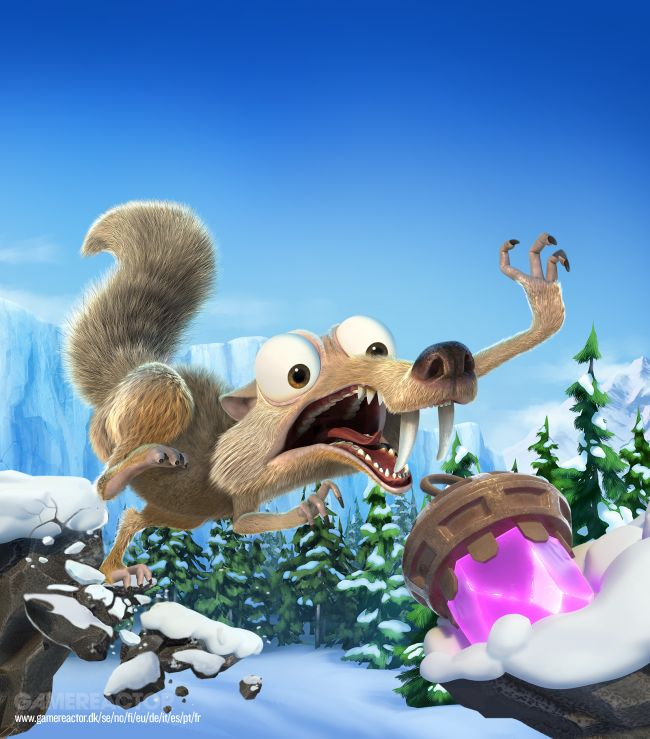 Ice Age: Scrat's Nutty Adventure ulos uuden trailerin kera