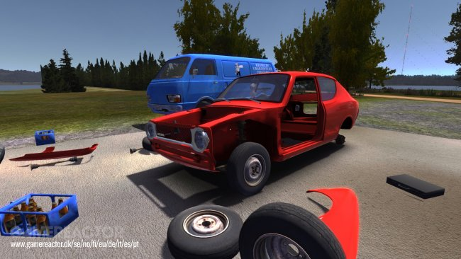 Hervoton kotimainen My Summer Car ilmestyi Steam Greenlightiin
