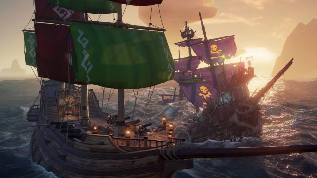 Sea of Thieves tulossa Steamiin
