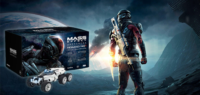 Voita Mass Effect: Andromeda Collector's Edition!