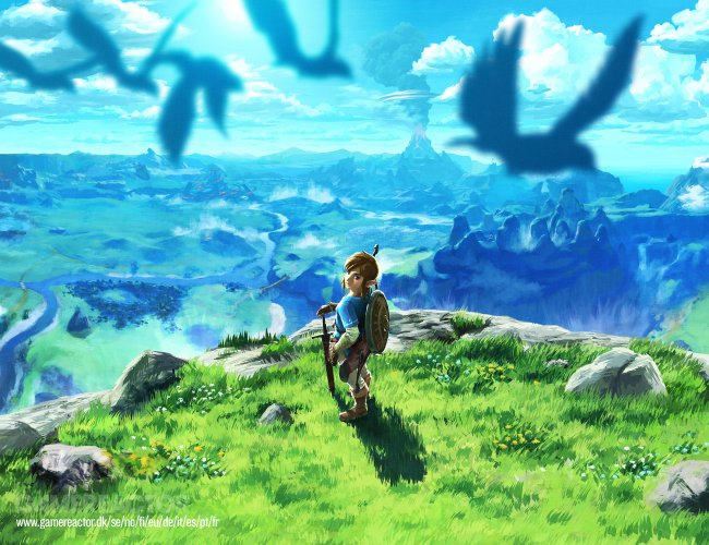 Näin alkaa Zelda: Breath of the Wild Switchillä