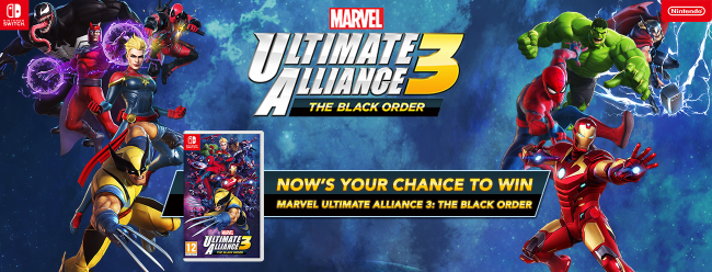 Gamereactorin Marvel Ultimate Alliance 3: The Black Order -kisan voitto Suomeen