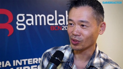 Keiji Inafune - Gamelab 2014 -haastattelu