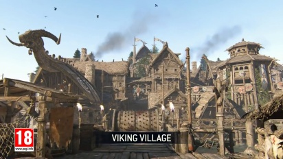 For Honor - Viking Village Map -traileri