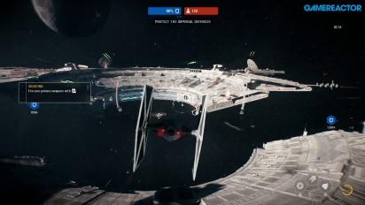 Star Wars Battlefront II - Starfighter Assault - moninpelin pelikuvaa