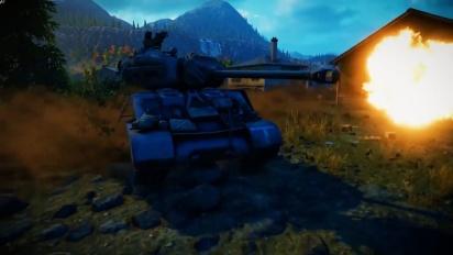 World of Tanks – Mercenaries Update - virallinen kiusoittelupätkä