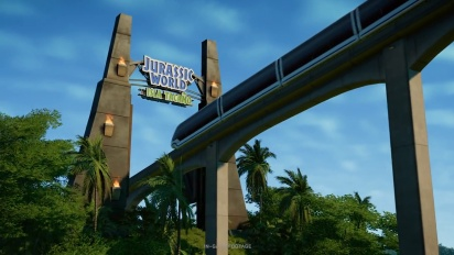 Jurassic World Evolution - 1.4 Update -traileri