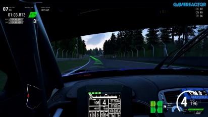 Assetto Corsa Competizione - Jaguar G3 Emil Frey -pelikuvaa