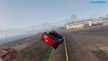 Grand Theft Auto V: Hulluimmat stuntit