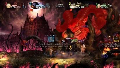 Dragon's Crown Pro - julkistustraileri