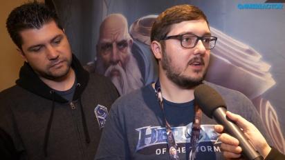 Heroes of the Storm - Matt Villers ja Kaeo Milker haastattelussa