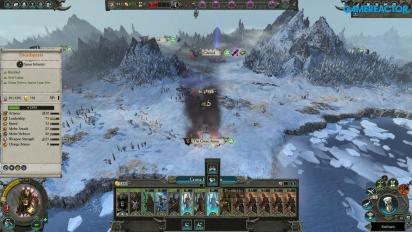 Total War: Warhammer II - Crone Hellebron Dark Elves -pelikuvaa