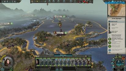 Total War: Warhammer II - Alith Anar -pelikuvaa