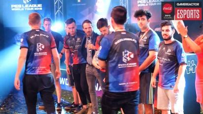 PES League Finals World Tour 2018 - voittajien haastattelu