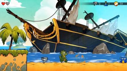 Wonder Boy: The Dragon's Trap - mobiiliversion julkistustraileri
