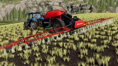 Farming Simulator 19 - Kverneland & Vicon Equipment Pack -pätkä