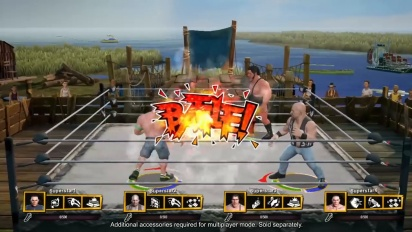 WWE 2K Battlegrounds - Nintendo Switch Gameplay Traileri