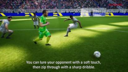eFootball - Gamescom 2021 -pelikuvatraileri