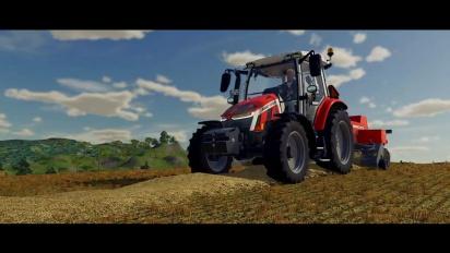 Farming Simulator 22 - ensimmäinen pelikuvatraileri