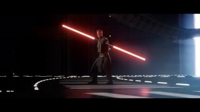 Star Wars Battlefront II - vuodettu julkistustraileri