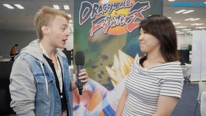 Dragon Ball FighterZ - Tomoko Hiroki haastattelussa