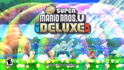 New Super Mario Bros. U Deluxe - julkistustraileri