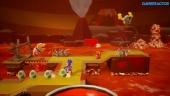 Yoshi's Crafted World - Poochy's Magma Run -pelikuvaa