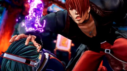The King of Fighters XV - Iori Yagami Character -traileri #4