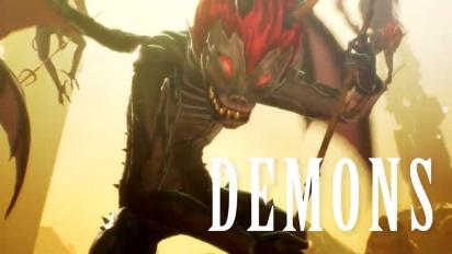 Shin Megami Tensei V- Release Date Traileri