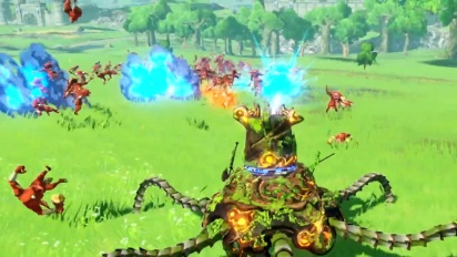 Hyrule Warriors: Age of Calamity - Expansion Pass Wave 1 -traileri