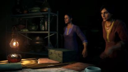 Uncharted - The Lost Legacy PS4 -tarinatraileri