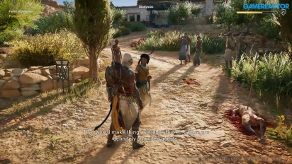 Assassin's Creed: Origins - E3-pelikuvaa