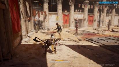 Assassin's Creed: Origins - E3 Arena Mode -pelikuvaa