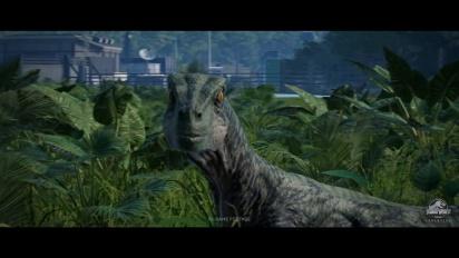 Jurassic World Evolution - ensimmäinen pelikuvatraileri