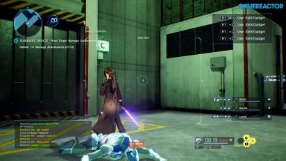 Sword Art Online: Fatal Bullet - TGS-pelikuvaa #1